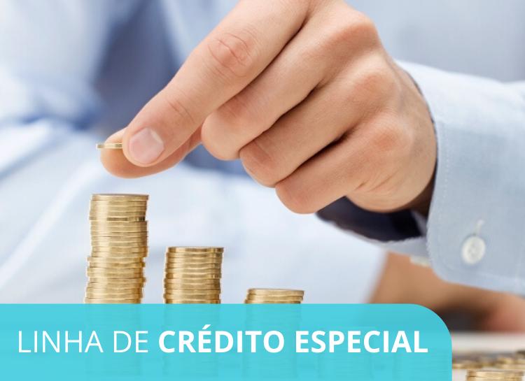 LINHA DE CRÉDITO ESPECIAL