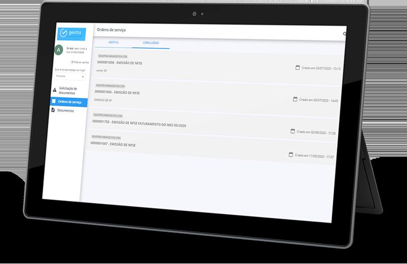 O Gestta é um O Gestta é um Sistema para escritórios de contabilidade onde é possível gerar relatórios e métricas essenciais de performance que oferece um portal exclusivo para os seus clientes