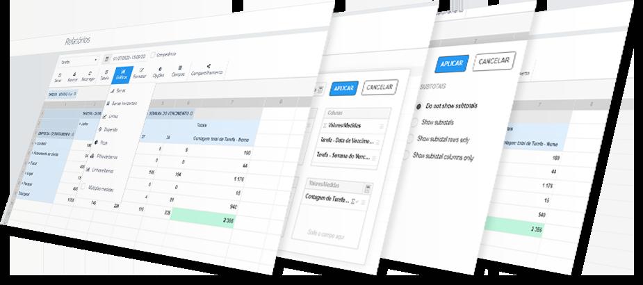O Gestta é um Sistema para escritórios de contabilidade onde é possível gerar relatórios e métricas essenciais de performance