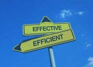 Diferença entre eficiência e eficácia